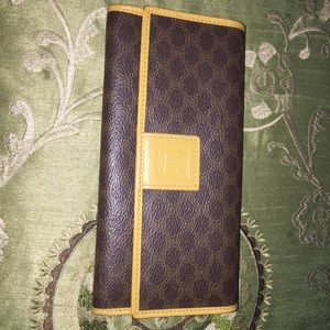 Authentic Vintage Celine Wallet